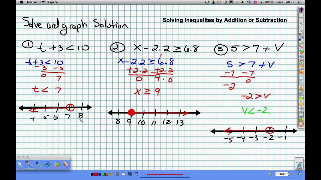 Multi-Step Word Problems - Inequalities (examples, solutions