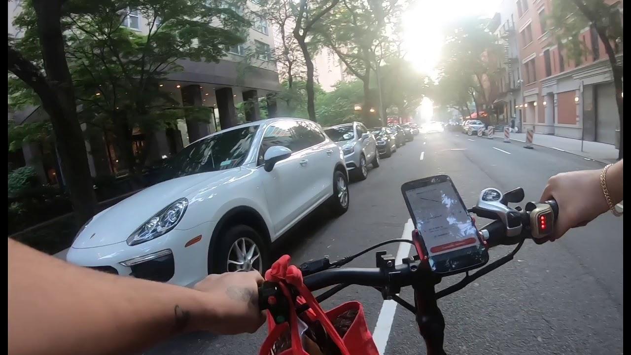 A volta do bike vlog em Nova York