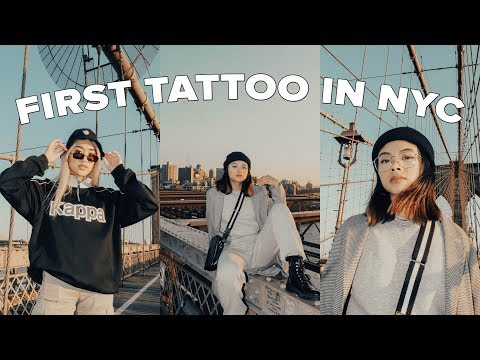 Getting a TATTOO + PIERCINGS + SHOOTING FILM in NEWYORK! thumbnail