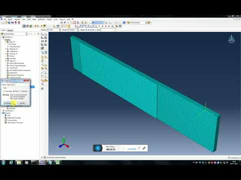 Piezoelectric energy harvester modeling using composite layup in ABAQUS