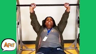 Watch the Bench PRESS HER! 😆 | Funniest Fails | AFV 2020