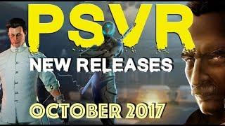 PSVR Releases October | 13 New games & DLC