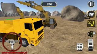 Stone Crusher Excavator Simulator Factory | All Game Levels | Android Gameplay HD