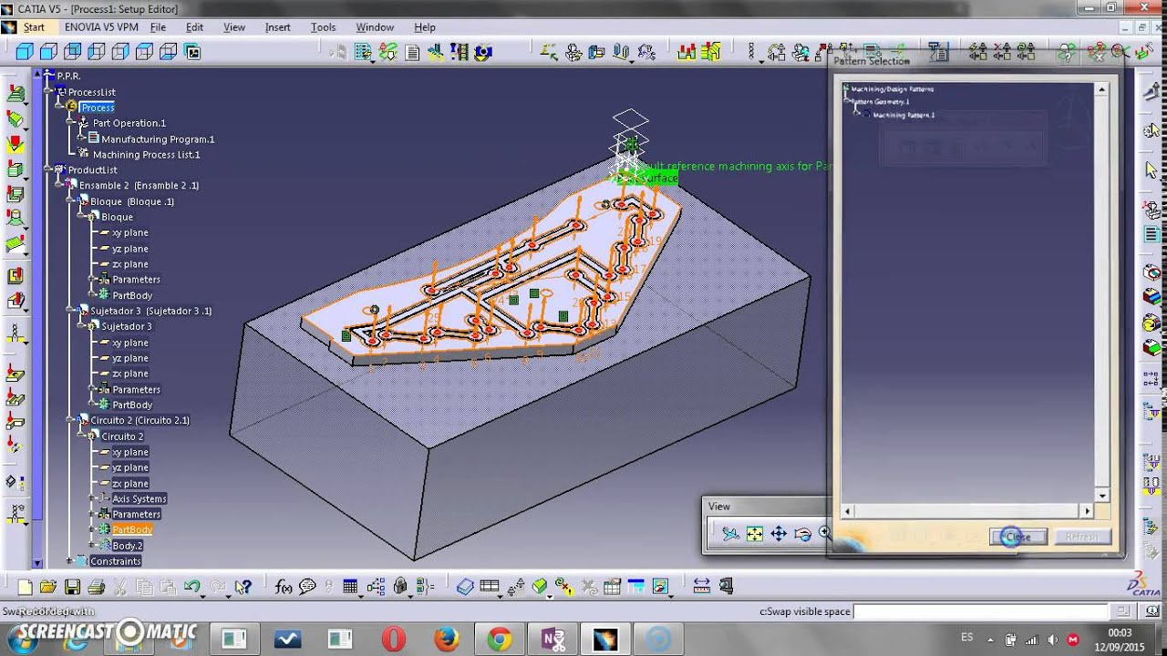 PCB CAM CATIA V5 1/2 - YouTube