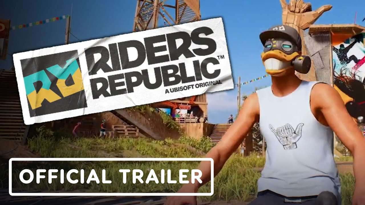 Riders Republic - Official Gameplay Overview Trailer | E3 2021