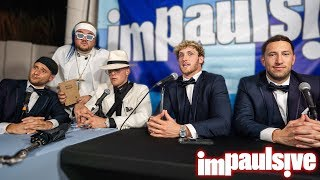 LIVE FROM JAKE PAUL AND TANA MONGEAU'S WEDDING - IMPAULSIVE EP. 105