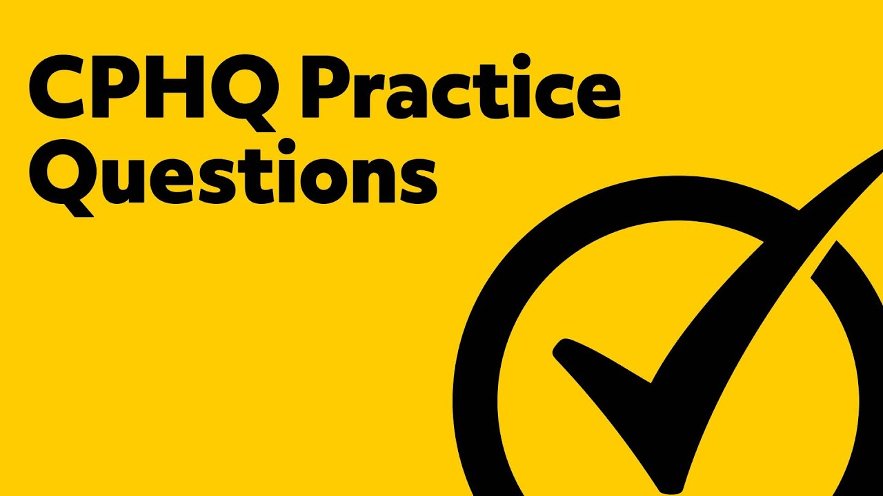Cphq exam practice questions cphq study guide youtube cphq exam practice questions cphq study guide xflitez Image collections