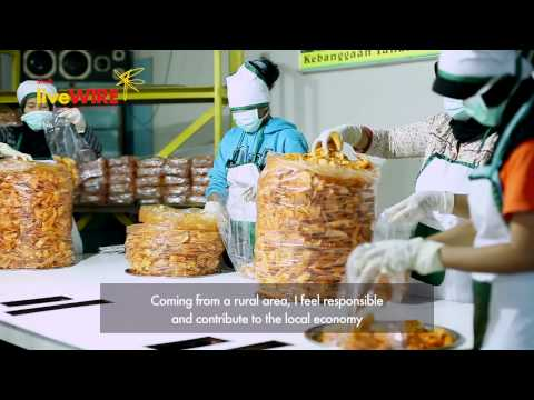 Shell LiveWIRE Indonesia: Business Start-up Awards 2014 Finalist, Tals Chips