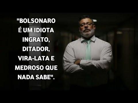 FROTA CHAMA BOLSONARO DE VIRADA LATA, DITADOR, MEDROSO E IDIOTA INGRATO.