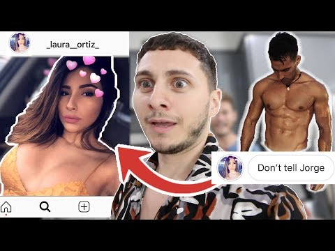 CATFISHING MY ROOMMATES GIRLFRIEND with a HOT IG MODEL (ft Daniel Fernandez)