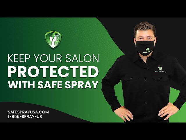 Keep Your Salon Protected With Safe Spray Electrostatic Disinfection