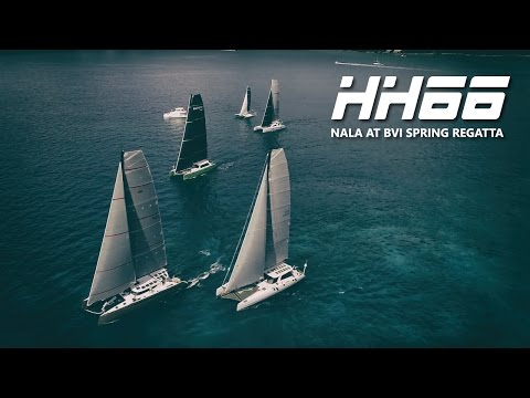 HH66-03 Nala Takes 2nd Overall in the 2017 BVI Spring Regatta