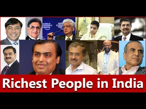 Top 10 Richest People in India and Business