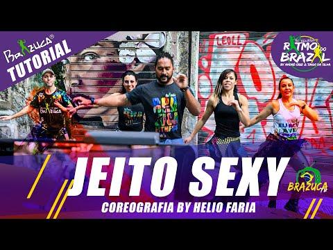 Tutorial Jeito Sexy – Grupo Sambô – Brazuca Fitness (Coreo by Helio Faria)