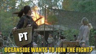 The Walking Dead Season 7 Episode 15 Oceanside Wants To Join The Fight? TWD 715