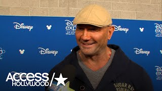 Dave Bautista On What It's Like Being Involved In 'Avengers: Infinity War'   Access Hollywood