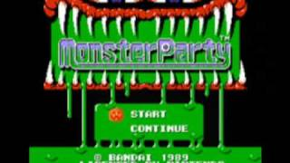 Monster Party NES Music Prologue