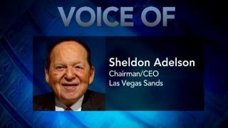 Sheldon Adelson: Online Gambling a Trainwreck, a Cancer