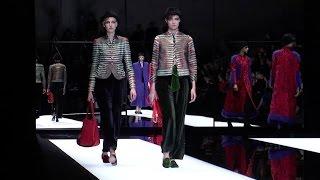 Giorgio Armani - 2017/2018 Fall Winter Women's Fashion Show
