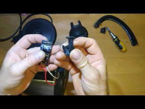 Как поставить пружинку в кнопке электро чайника