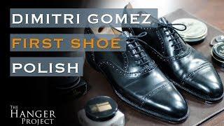 First Shoe Polish: Dimitri Gomez Cap Toe Oxfords