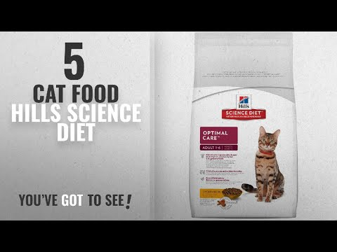 top-5-cat-food-hills-science-diet-[2018-best-sellers]:-hill's-science-diet-adult-cat-food,-optimal