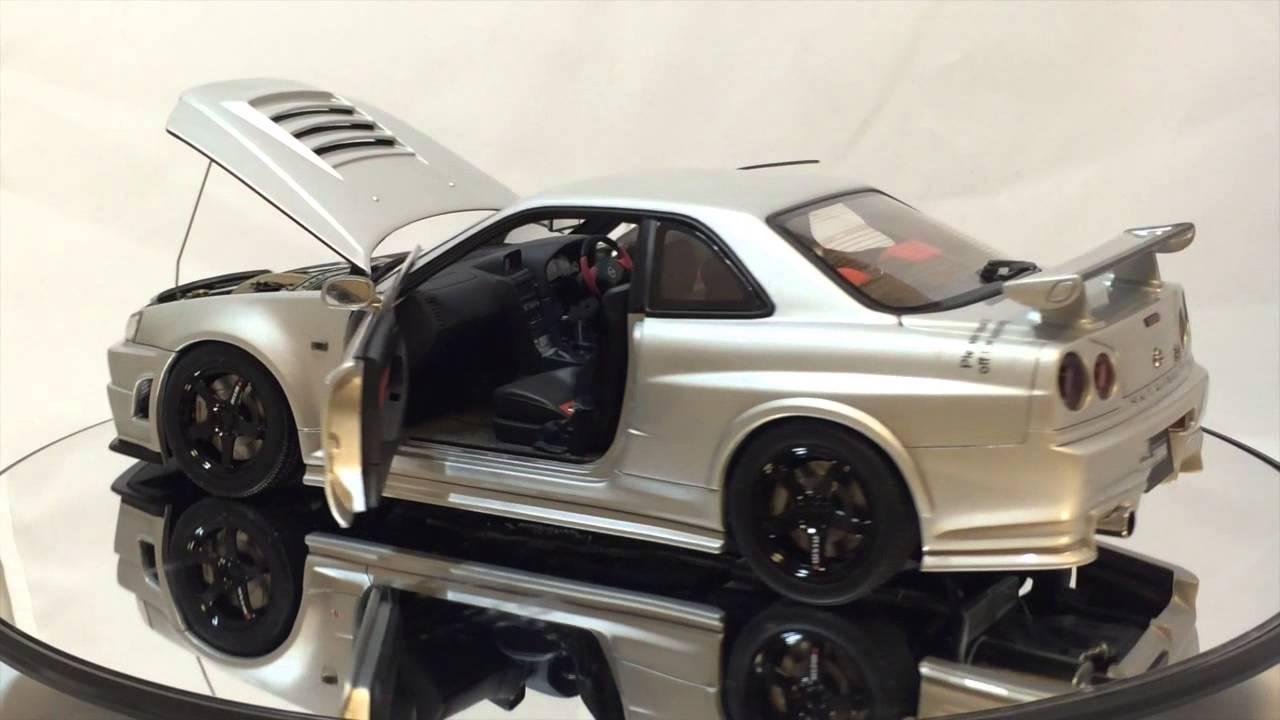 Nissan Z Tune >> 1/18 autoart nismo r34 gt-r z-tune z2 - YouTube