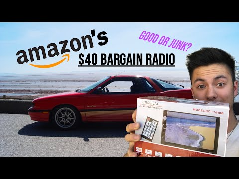 amazon's-cheapest-double-din-radio-2019-install-+-review!