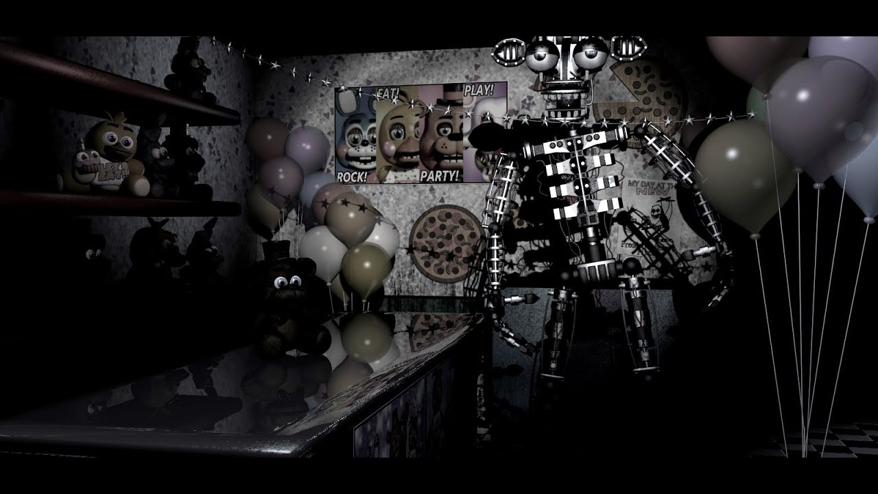 Fnaf 2 gizem secret endoskeleton youtube sciox Choice Image