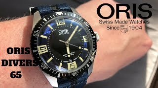 Oris Divers Sixty-Five One Of The Best Heritage Dive Watches Made