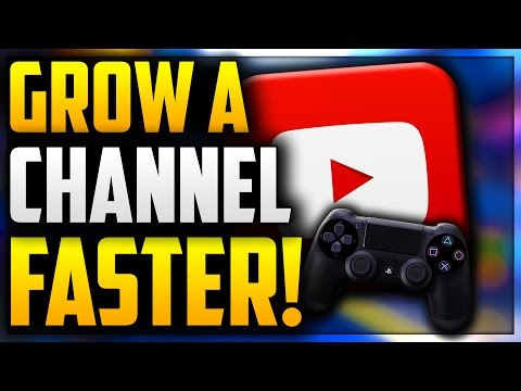 HOW TO GROW A PROFESSIONAL STARTER GAMING CHANNEL FAST 2017!!! TIPS ON GROWING YOUR CHANNEL FAST!!!