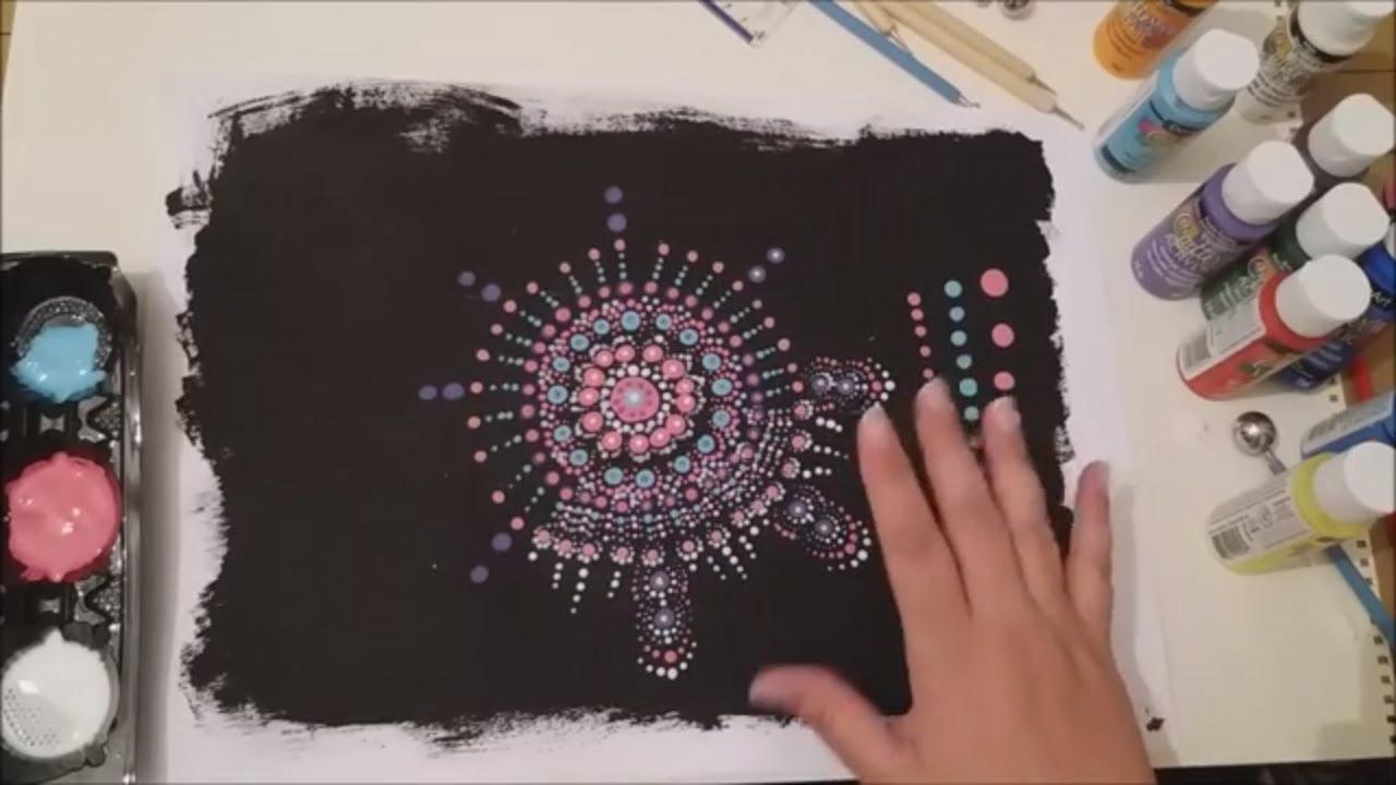 Dot Mandala Tutorial For Beginners With Artist Janette Oakman 1 - Is It  Really As Easy As It Looks?