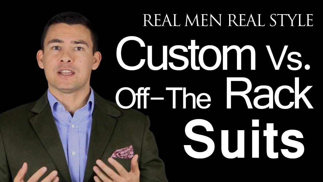 custom men suit vs offtherack suits which one to buy