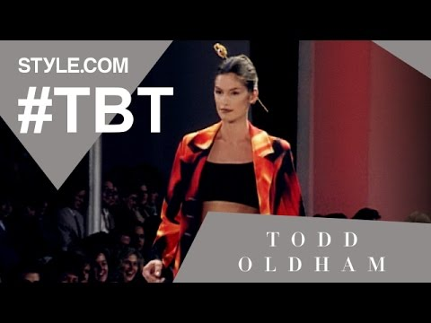 Nineties Nostalgia with Todd Oldham and Cindy Crawford - #TBT With Tim Blanks - Style.com