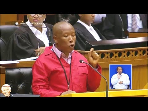 Julius Malema EFF Motion | Expropriation Of Land Without Compensation