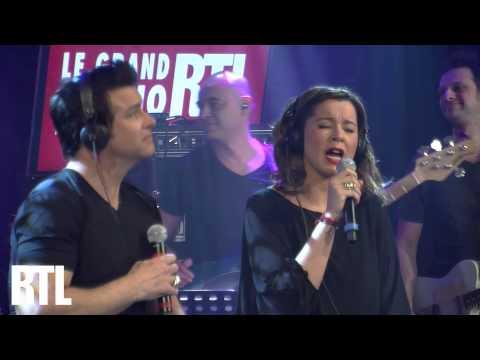 Chimène Badi & Roch Voisine - Je te serai fidèle en live dans le Grand Studio RTL - RTL - RTL