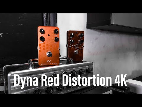 One Control Dyna Red Distortion 4K - Demo By Hans Johansson