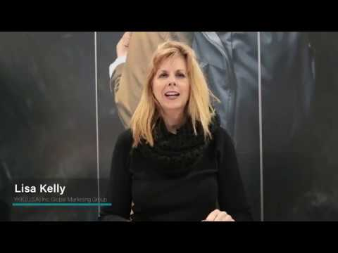 Lisa Kelly introduces YKK's Woven-In Zipper