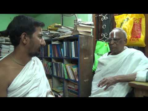 A talk with Srivaishnavasri Sri Krishnamachari, Srirangam (Part -1)