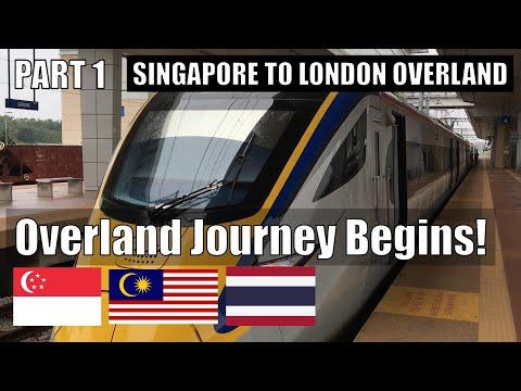 SINGAPORE TO LONDON OVERLAND - Part 1: Journey Begins - Kuala Lumpur