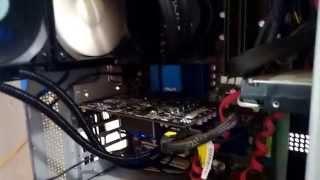 Instalando Water cooler Seidon na placa de vídeo zotac gtx 650 ti boost e teste com alguns jogos.