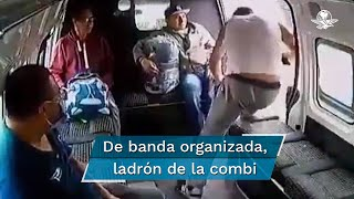 Choferes de transporte público afirman que la célula extorsiona y asalta pasajeros en la vía México-Texcoco
