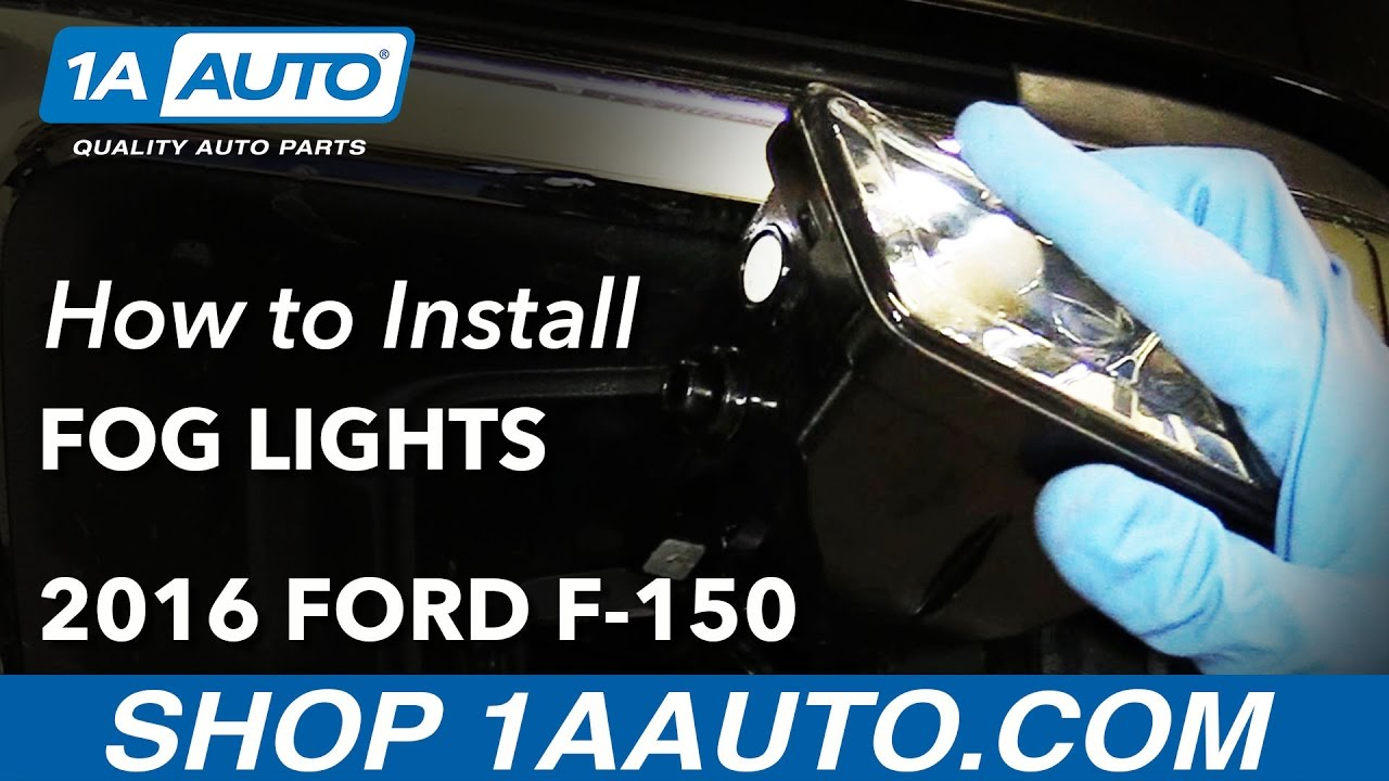 How to Replace Fog Light Assembly and Bulbs 15-19 Ford F-150