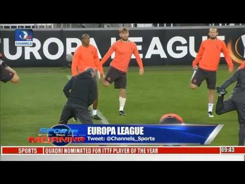 Sports this morning: analysing europa league fixtures