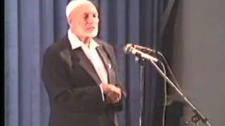 Ahmed Deedat Answer - Where was the word