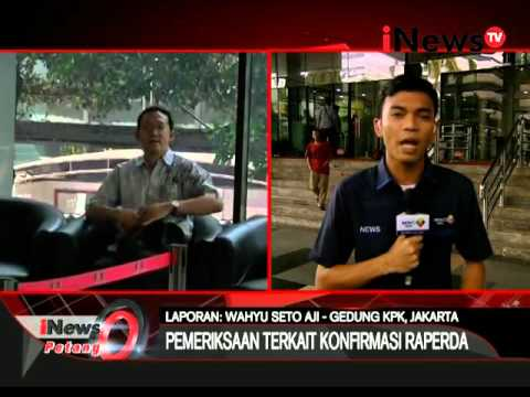Live Report: Wahyu Seto Aji, Staf Ahli Ahok Diperiksa KPK - INews Petang 13/04