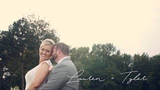 Lauren + Tyler's Wedding at the Farm at 42 in Selma, NC