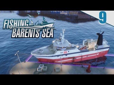 FISHING BARENTS SEA #9 - NUEVO BARCO HERMES Y BALLENAS DE TIERRA | Gameplay Español
