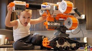Nerf War: Gun BABY 4! thumbnail