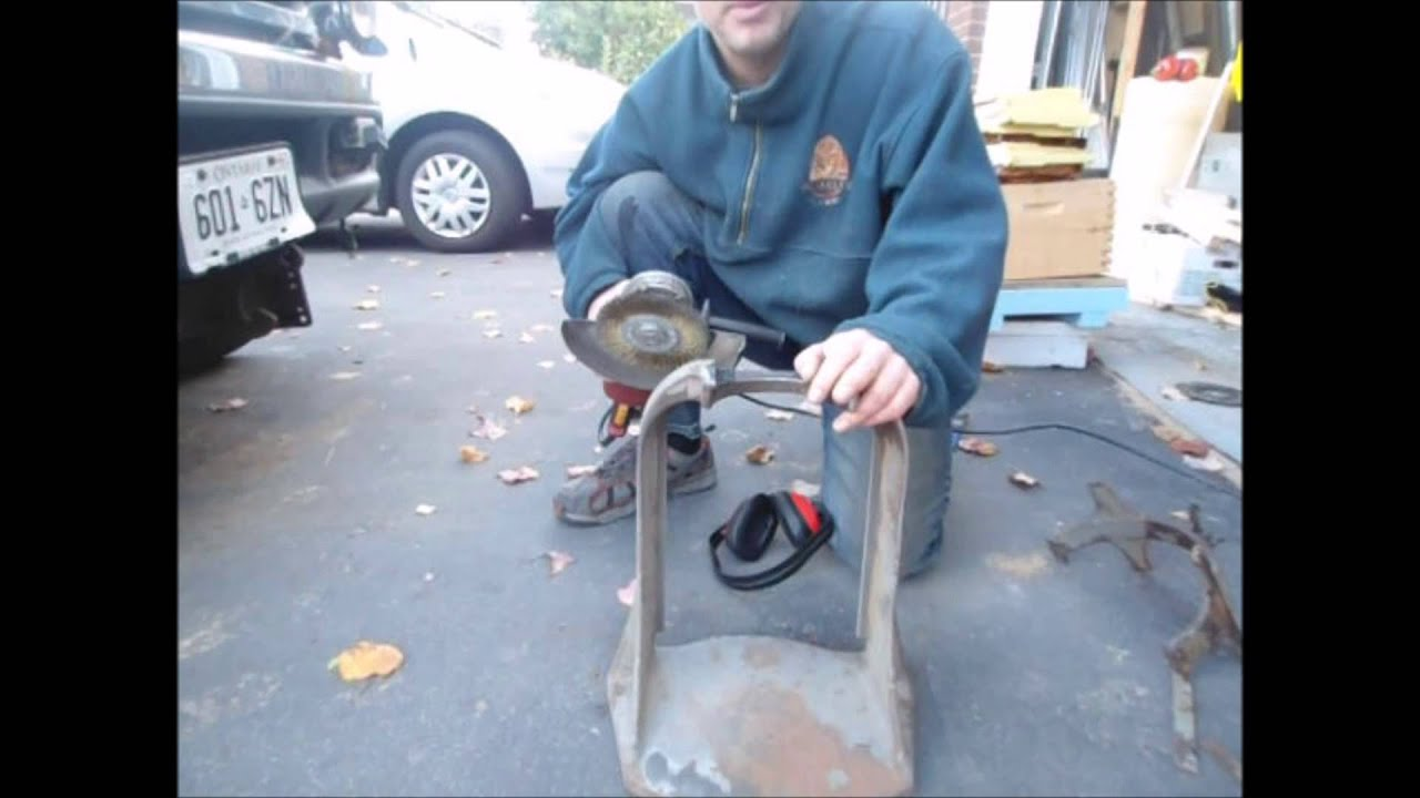 Wire Wheel for the Angle Grinder An essential shop tool - YouTube